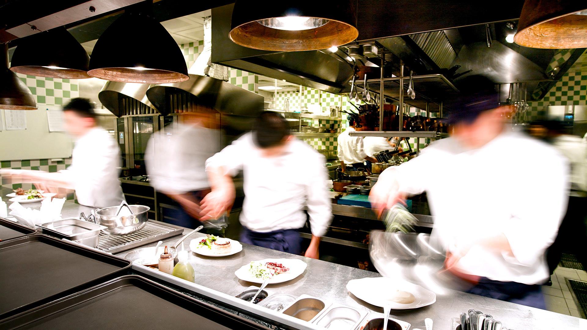 Aktuelle Situation in der Großküche