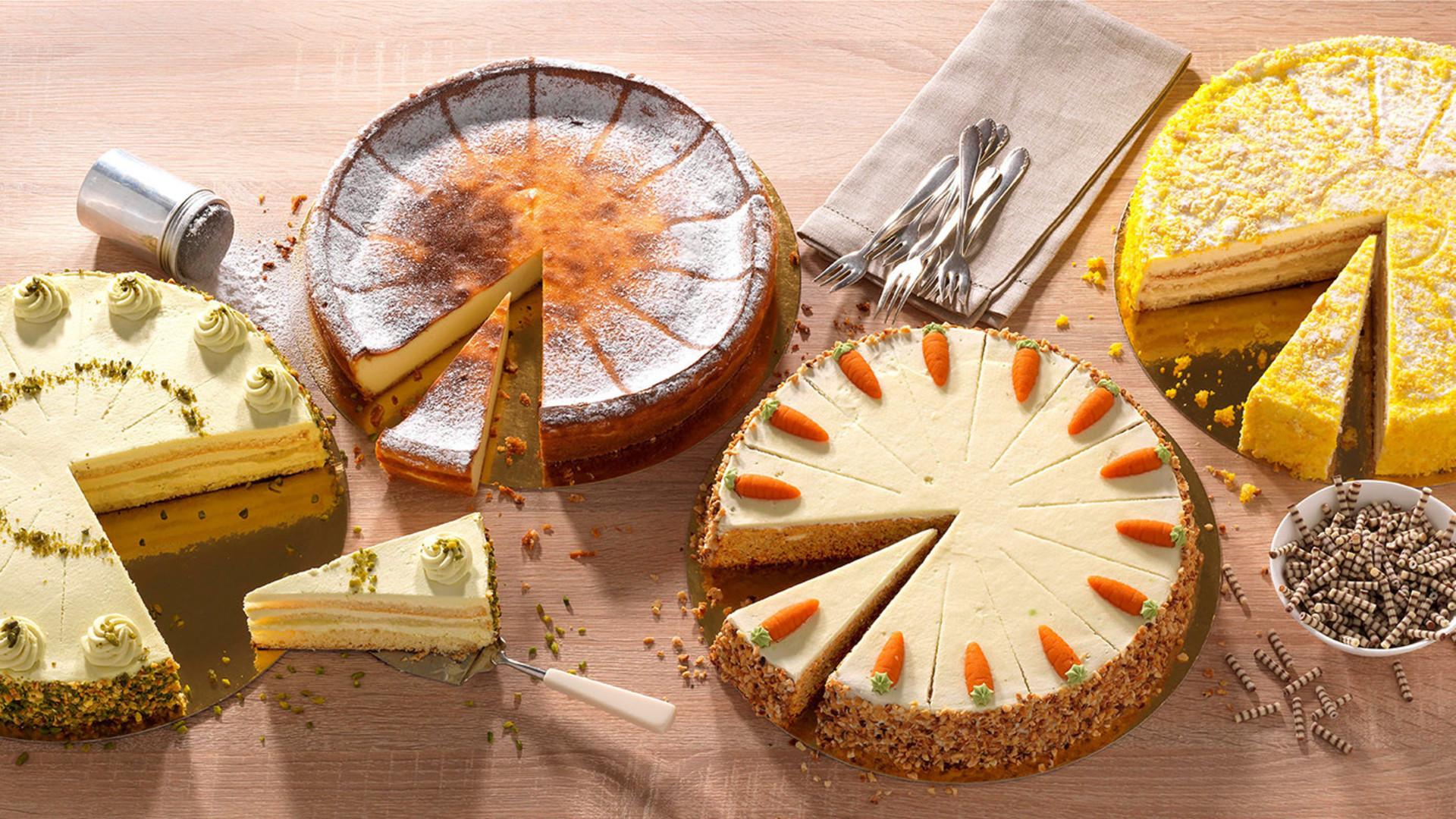 Premium Kuchen und Torten von Dr. Oetker Professional