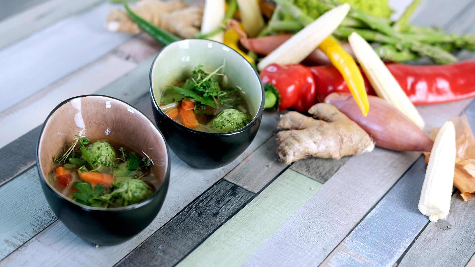 Suppeneinlagen von Dr. Oetker Professional