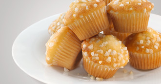 Mini-Muffins Vanille