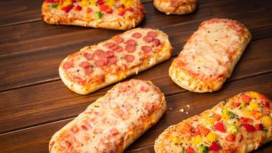 Luftig, kross und handlich: Pizza Snacks