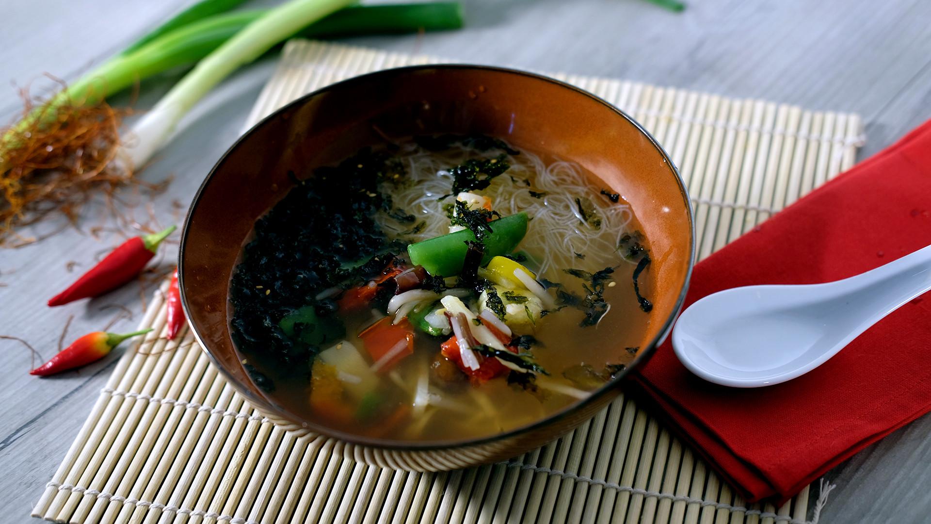 Asiatische Suppe von Dr. Oetker Professional