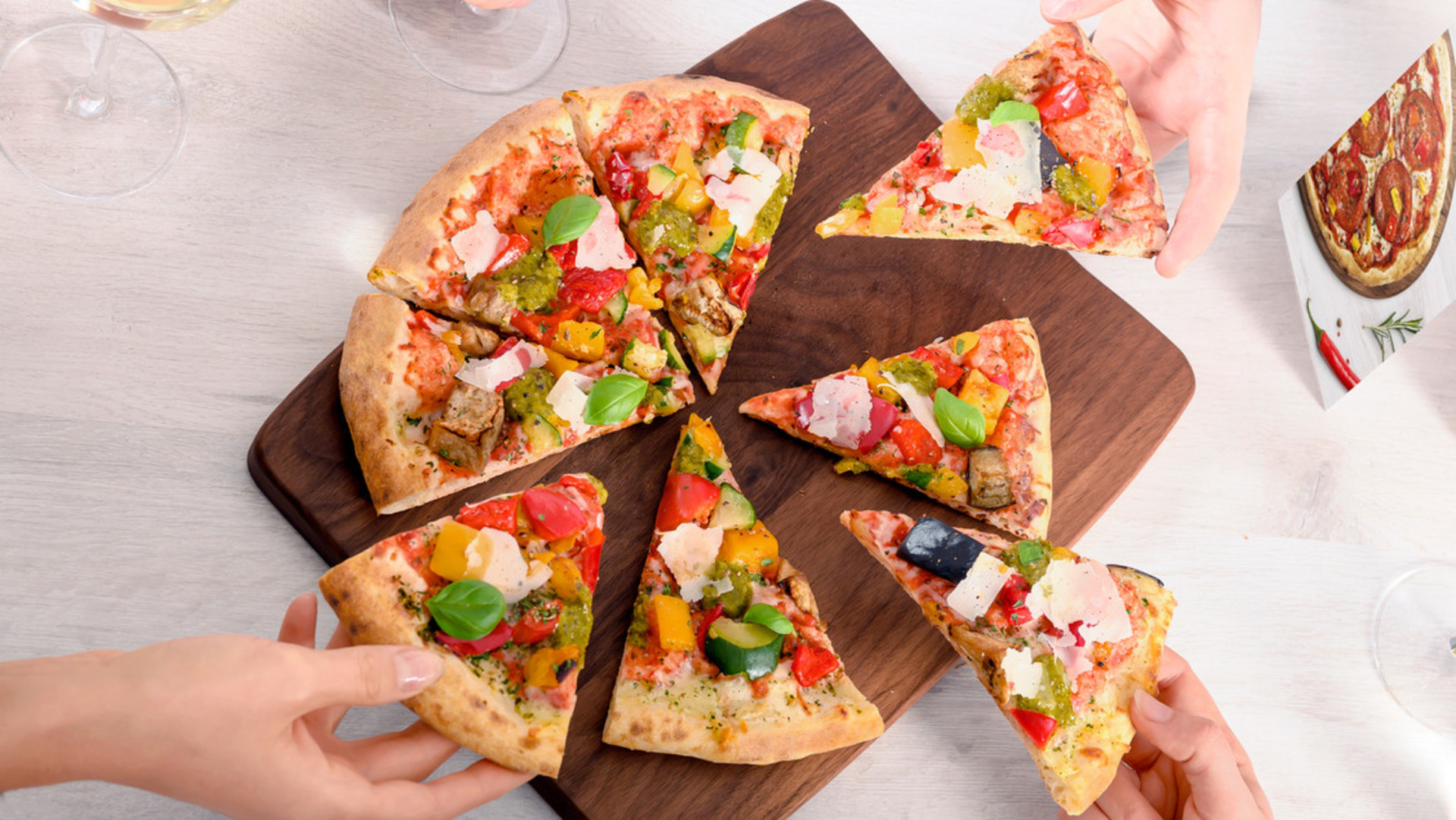 Pizza Perfettissima Tischsituation