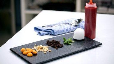 Texturen von Lebensmitteln